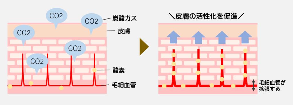 炭酸ガスの効果